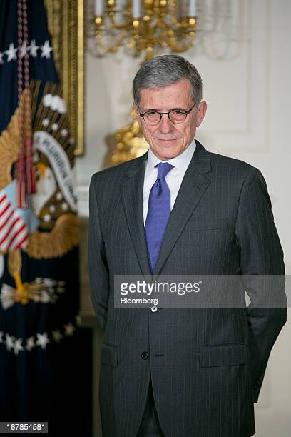 Thomas Tom Wheeler managing director of Core Capital Partners LP and US President Barack Obama's nominee as chairman of the Federal Communications...