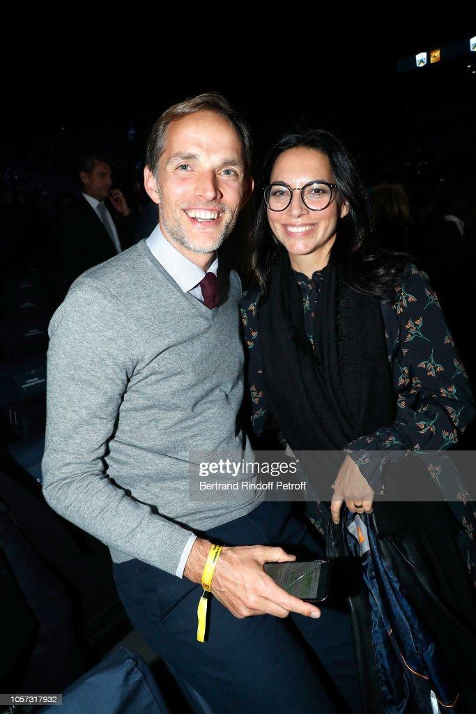 Thomas Tuchel and his wife Sissi Tuchel attend Rolex Paris ...