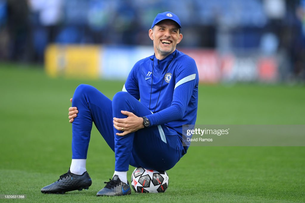 Chelsea FC Training Session and Press Conference - UEFA Champions League Final 2021 : News Photo