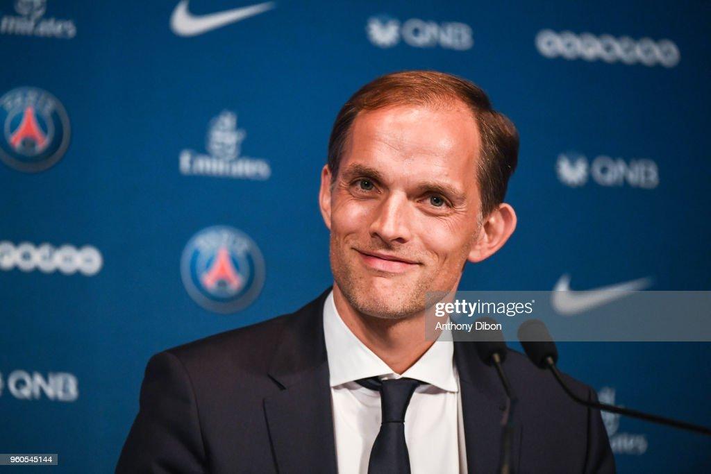Thomas Tuchel Press Conference - New head coach of Paris Saint Germain