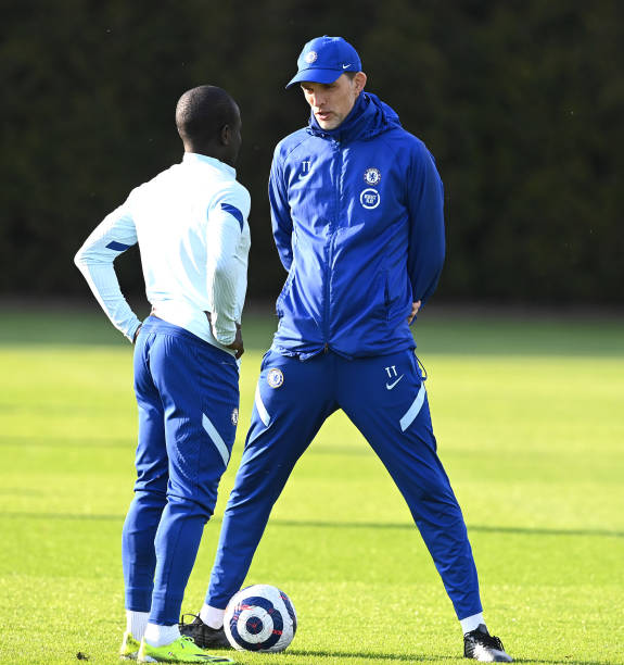 GBR: Chelsea Training and Press Conference
