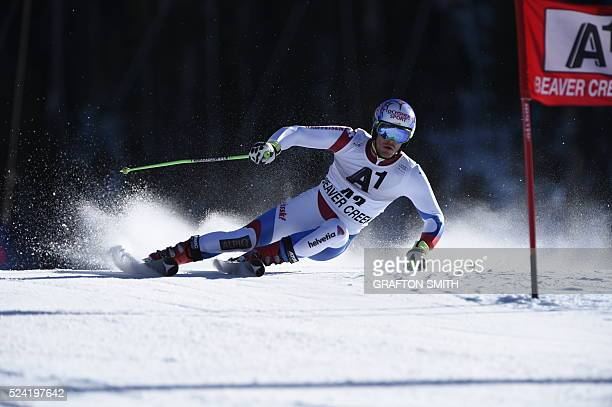 Thomas Tumler • SUI • at 2014 Beaver Creek World Cup Giant Slalom