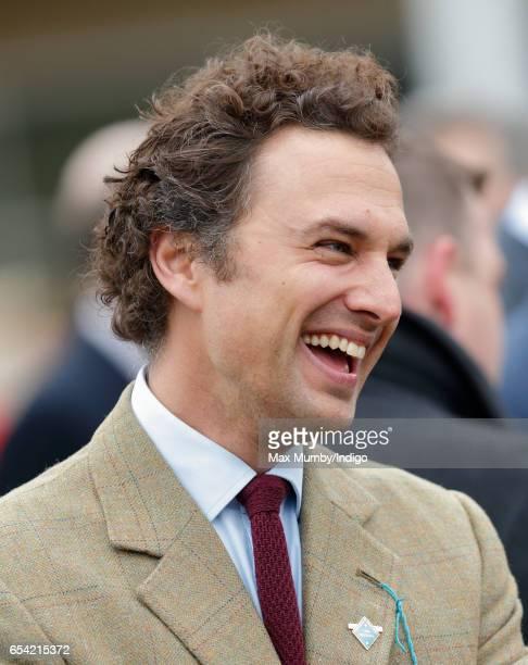 Thomas van Straubenzee attends day 3 of the Cheltenham Festival at Cheltenham Racecourse on March 16, 2017 in Cheltenham, England.