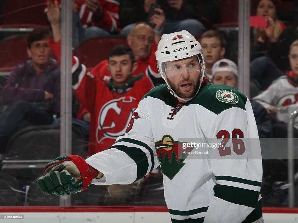 Minnesota Wild v New Jersey Devils : News Photo