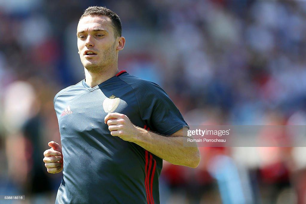 Belgium Soccer Team Training EURO 2016 : News Photo