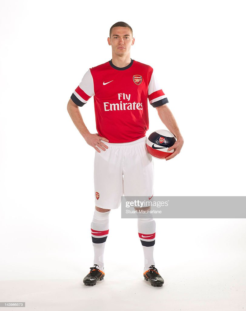 Arsenal Home Kit 2012/2013 Photo Shoot