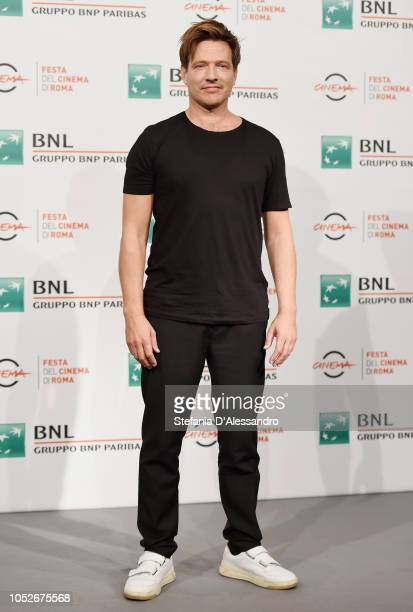 Thomas Vinterberg attends 'Kursk' photocall during the 13th Rome Film Fest at Auditorium Parco Della Musica on October 21 2018 in Rome Italy
