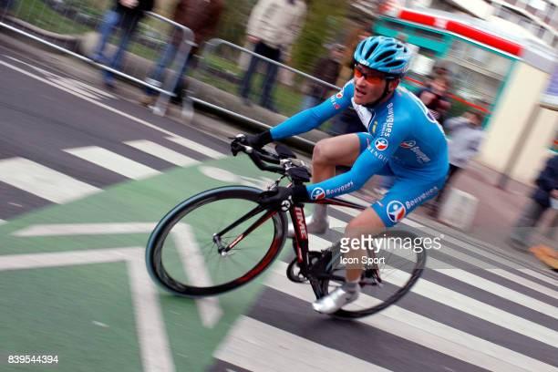 Thomas VOECKLER Bouygues Telecom Prologue ParisNice 2006 contre la montre 4km Issy les Moulineaux