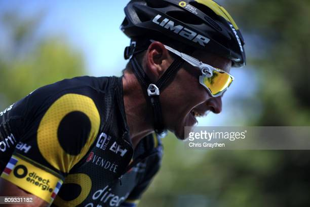 Thomas Voeckler of France riding for Direct Energie rides in the breakaway during stage five of the 2017 Le Tour de France, a 160.5km stage from...