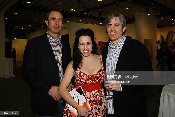 Thomas von Lintel Laura Solomon and Steve Solomon attend THE ARMORY SHOW 2006 Opening Night Preview Party To Benefit The Exhibition Fund of The...