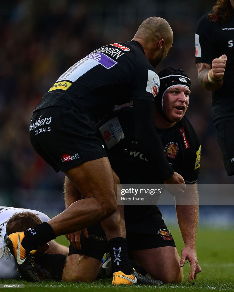 Exeter Chiefs v Bath Rugby - Aviva Premiership