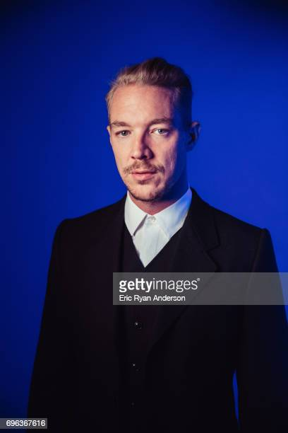 Thomas Wesley Pentz American DJ known as Diplo is photographed for Billboard Magazine on May 19 2016 in New York City