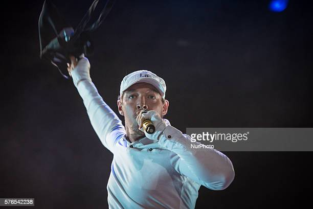 Thomas Wesley Pentz Diplo of Major Lazer perform during the first day of the Benicassim International Festival in Benicassim on July 1 2016