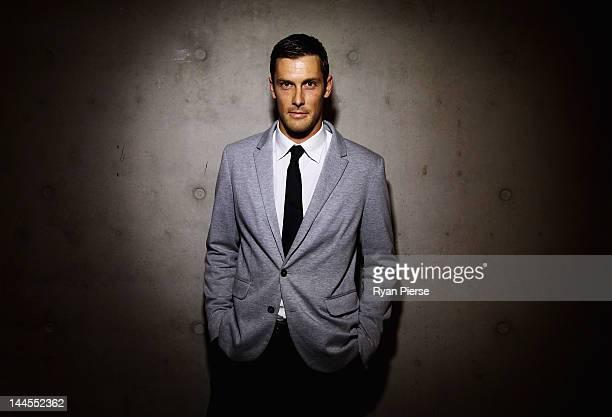 Thomas Whalan Australian Water Polo Team member poses during the Athlete Farewell Appeal Dinner for the 2012 Australian Olympic Team at the Sydney...