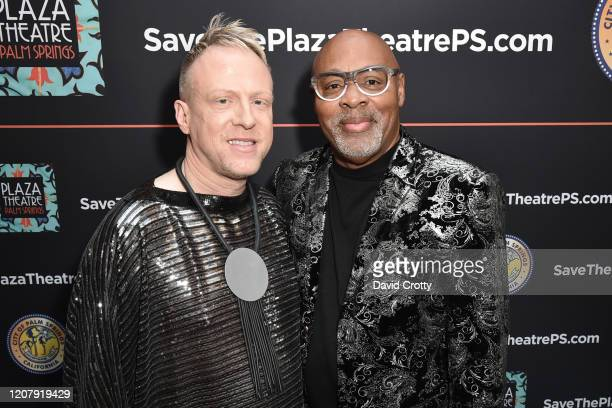 Thomas Whelan and Jason Howell attend the House Of Cardin Special Screening At Palm Springs Modernism Week at The Plaza Theater on February 21 2020...
