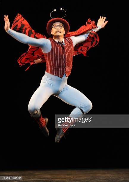 Thomas Whitehead in Jerome Robbins'u2019s The Concert at The Royal Opera House on December 17 2018 in London England