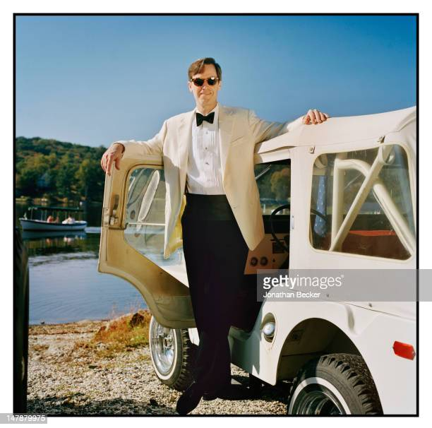 Thomas Wilson, Tuxedo Park's mayor and co-founder of the Tuxedo Land Trust is photographed for Town & Country Magazine on September 8, 2011 in a 1967...