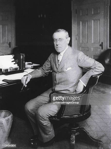 Thomas Woodrow Wilson was the 28th President of the United States 19131921