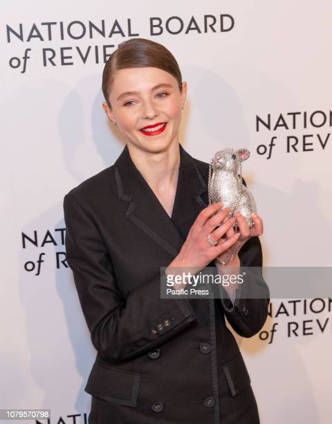 Thomasin Harcourt McKenzie attends National Board of Review 2019 Gala at Cipriani 42nd street.