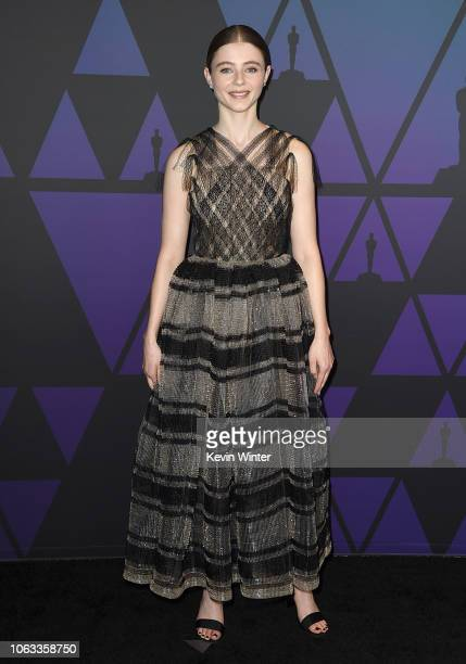 Thomasin Harcourt McKenzie attends the Academy of Motion Picture Arts and Sciences' 10th annual Governors Awards at The Ray Dolby Ballroom at...