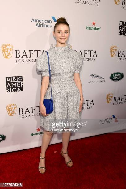 Thomasin Harcourt McKenzie attends The BAFTA Los Angeles Tea Party at Four Seasons Hotel Los Angeles at Beverly Hills on January 5 2019 in Los...