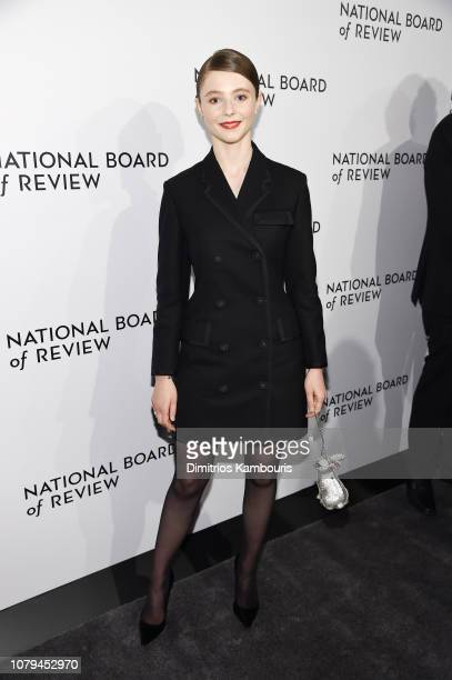 Thomasin Harcourt Mckenzie attends The National Board of Review Annual Awards Gala at Cipriani 42nd Street on January 8 2019 in New York City