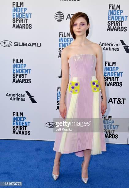 Thomasin McKenzie attends the 2019 Film Independent Spirit Awards on February 23 2019 in Santa Monica California