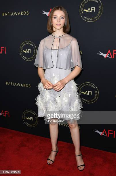 Thomasin McKenzie attends the 20th Annual AFI Awards at Four Seasons Hotel Los Angeles at Beverly Hills on January 03, 2020 in Los Angeles,...