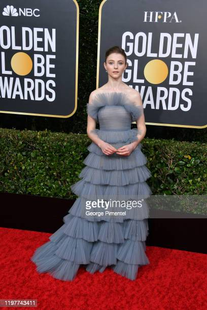 Thomasin McKenzie attends the 77th Annual Golden Globe Awards at The Beverly Hilton Hotel on January 05 2020 in Beverly Hills California