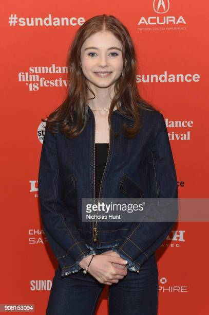 """Thomasin McKenzie attends the """"Leave No Trace"""" Premiere during the 2018 Sundance Film Festival at Eccles Center Theatre on January 20, 2018 in Park..."""