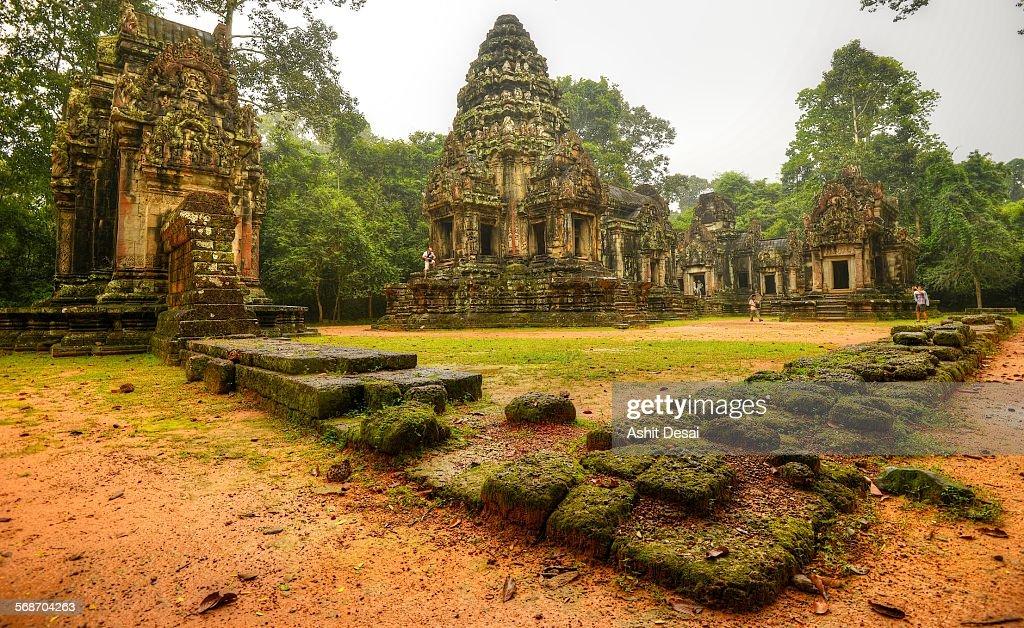 Thommanom, Siem Reap, Cambodia : Stock Photo