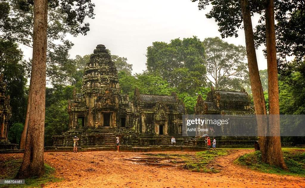 Thommanom, Siem Reap, Cambodia : Stock Photo