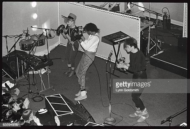 Thompson Twins Performing on Stage