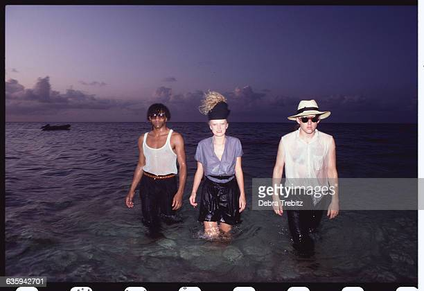 Thompson Twins Wading in the Ocean