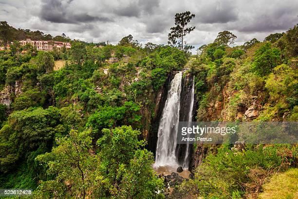 thomson falls, kenya - kenia stockfoto's en -beelden