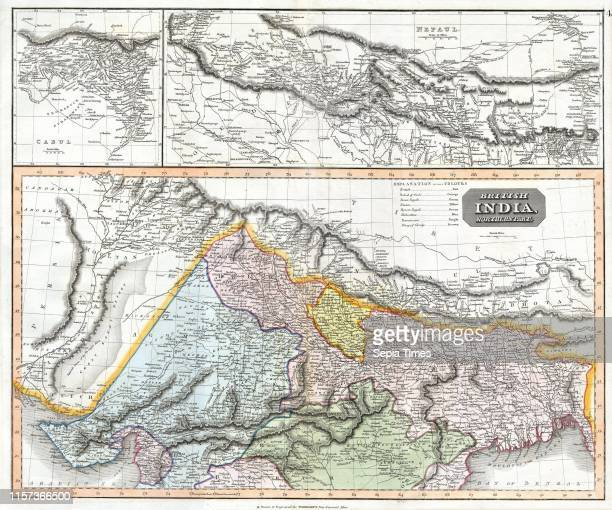 1814 Thomson Map of Northern India and Nepal John Thomson 1777 1840 was a Scottish cartographer from Edinburgh UK