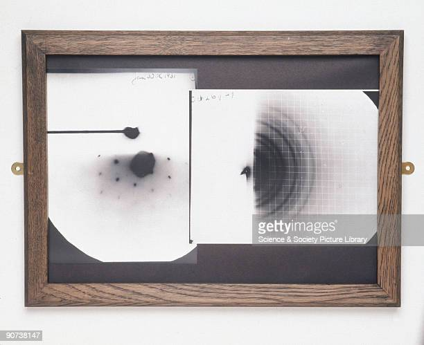 Thomson observed diffraction of electrons passing through thin gold foil recorded on photographic plates as concentric rings of varying intensity...
