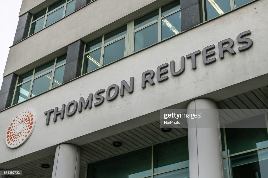 Thomson Reuters office building is seen in Gdynia, Poland on 15 November 2017 No one was injured after shots were fired in a Thomson Reuters office building in Gdynia, northern Poland, on Tuesday November 14th. evening. Police detained a 30 y.o. Belarusian citizen who is an employee of the agency. The shooter was reportedly disarmed by another employee