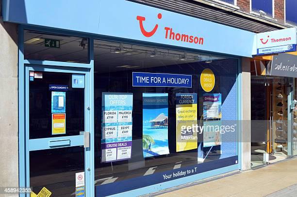 thomson reisebüros - tui ag stock-fotos und bilder