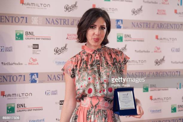 Thony during the photocall of the announcement of nominations to Nastri D'Argento 2017
