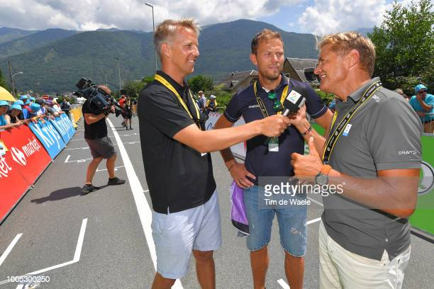 Thor Hushovd of Norway / Interview / Press / Media / during the 105th Tour de France 2018 Stage 17 a 67km stage from BagneresdeLuchon to...