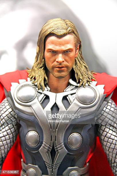 thor - marvel comics stock pictures, royalty-free photos & images