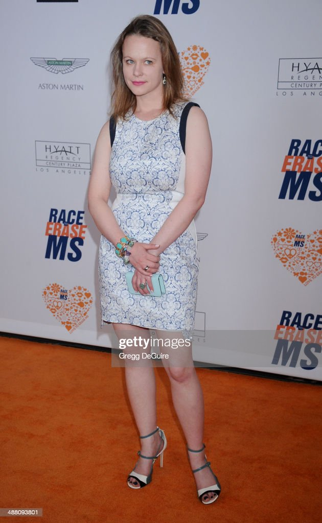 Thora Birch arrives at the 21st Annual Race To Erase MS Gala at the Hyatt Regency Century Plaza on May 2, 2014 in Century City, California.