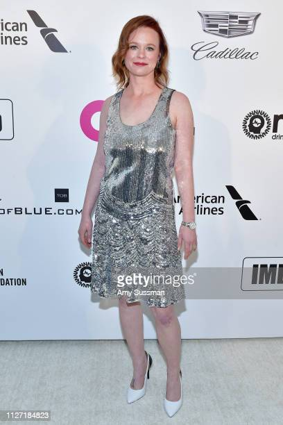 Thora Birch attends the 27th annual Elton John AIDS Foundation Academy Awards Viewing Party celebrating EJAF and the 91st Academy Awards on February...