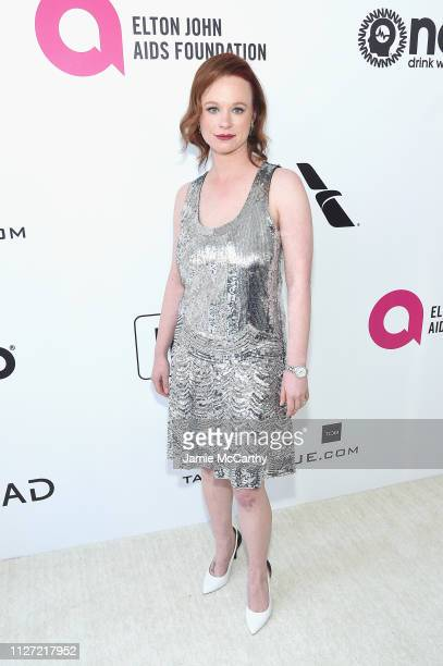 Thora Birch attends the 27th annual Elton John AIDS Foundation Academy Awards Viewing Party sponsored by IMDb and Neuro Drinks celebrating EJAF and...