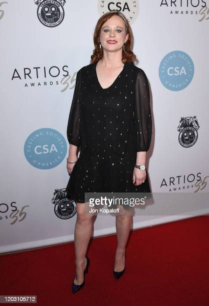 Thora Birch attends the Casting Society Of America's Artios Awards at The Beverly Hilton Hotel on January 30 2020 in Beverly Hills California