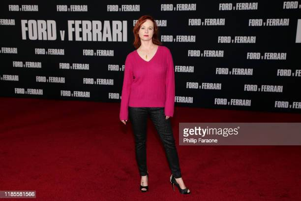 Thora Birch attends the premiere of FOX's Ford V Ferrari at TCL Chinese Theatre on November 04 2019 in Hollywood California