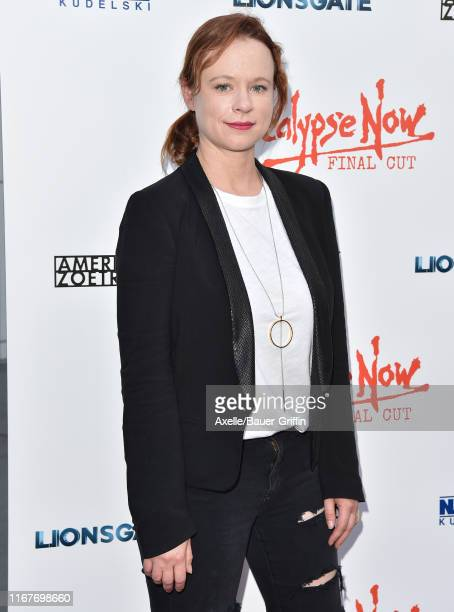 Thora Birch attends the LA Premiere of Lionsgate's Apocalypse Now Final Cut at ArcLight Cinerama Dome on August 12 2019 in Hollywood California
