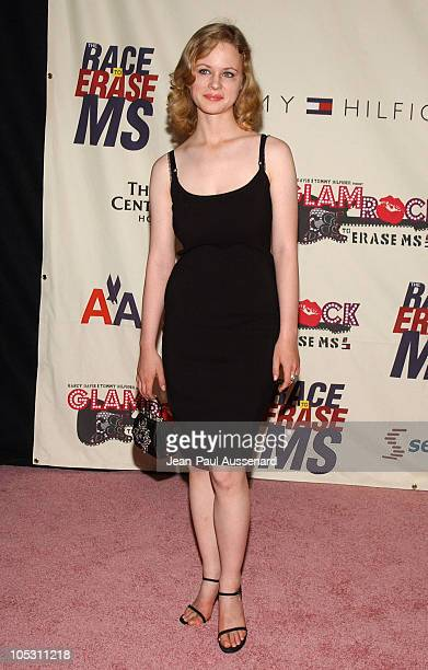 Thora Birch during 11th Annual Race To Erase MS Gala Arrivals at The Westin Century Plaza Hotel in Los Angeles California United States