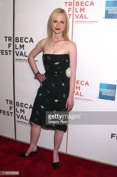 Thora Birch during 4th Annual Tribeca Film Festival Slingshot Premiere Inside Arrivals at Stuyvesant High School in New York City New York United...